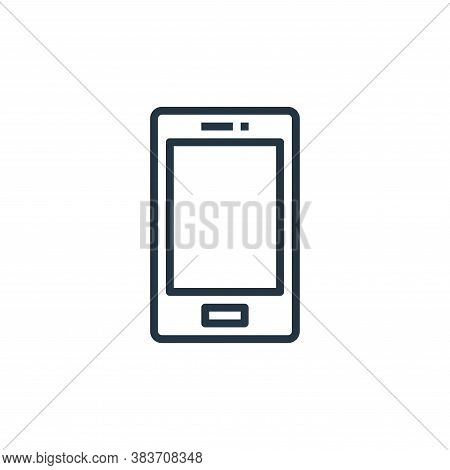 phone icon isolated on white background from computer collection. phone icon trendy and modern phone