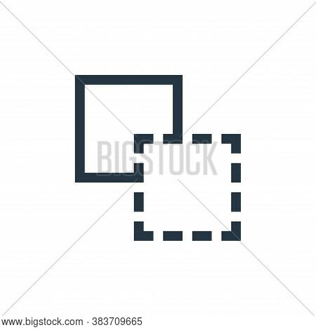 unite icon isolated on white background from vector editing collection. unite icon trendy and modern