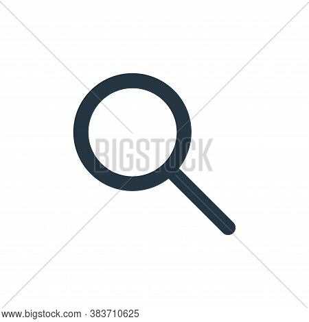 search icon isolated on white background from basic ui collection. search icon trendy and modern sea
