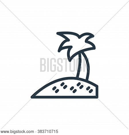coconut icon isolated on white background from travel collection. coconut icon trendy and modern coc