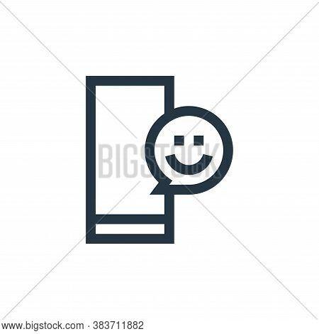 emoji icon isolated on white background from message collection. emoji icon trendy and modern emoji