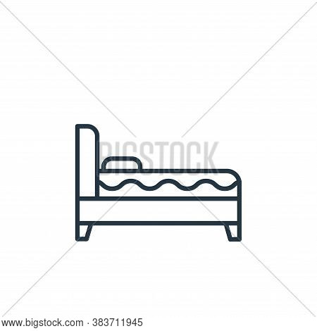 sofa bed icon isolated on white background from furniture collection. sofa bed icon trendy and moder