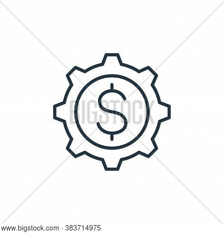 money management icon isolated on white background from finance collection. money management icon tr