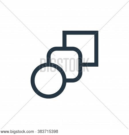 blend tool icon isolated on white background from vector editing collection. blend tool icon trendy