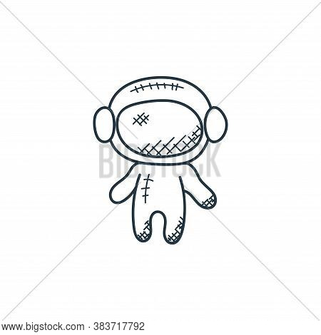 astronaut icon isolated on white background from space and aircraft collection. astronaut icon trend