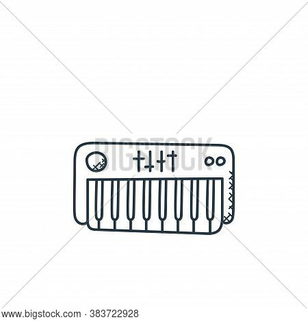 piano icon isolated on white background from music collection. piano icon trendy and modern piano sy