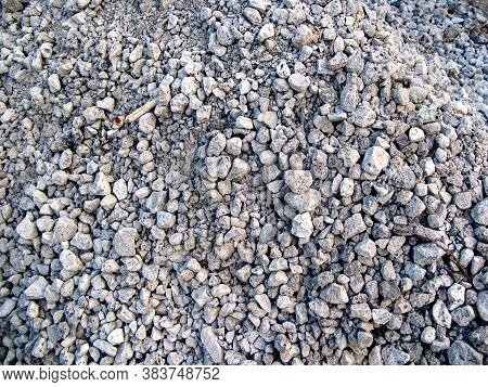 Heap Of Dump Slag. Slag After Metallurgical Processes. Waste Matter From The Smelting Process. Const