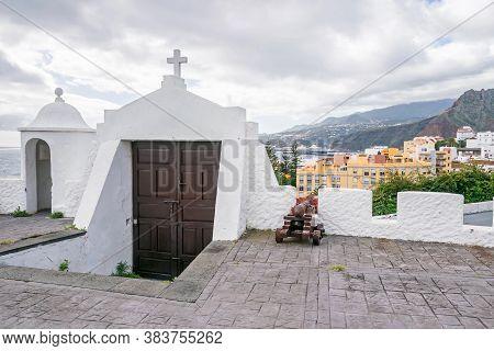 Santa Cruz De La Palma, Spain - November 12, 2019: Castillo De La Virgen, A Castle And A Simple Fort