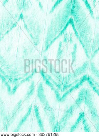 Marine Ikad Chevron. Tie-dye Background. Paint Watercolor Abstract. Dirty Paper Texture. Ogee Patter