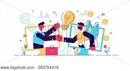 Entrepreneurship Funding, Initiative Investment, Idea Financing. Angel Investor, Startup Financial S