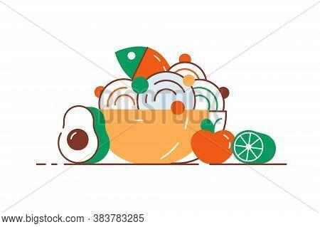 Vegetables, Fruits, Bread, Berries. Organic Food Set. Vegetarian Food Collection. Foods That Help He