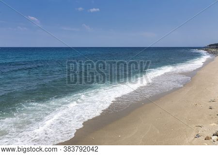 Beautiful View Of Beach At Agios Ioannis, Pelion, Greece