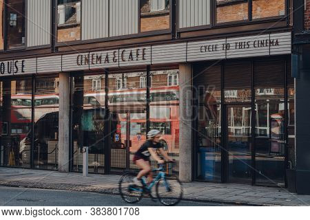 London, Uk - August 20, 2020: Picturehouse Cinema And Cafe In Crouch End, An Area In North London Tr