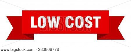 Low Cost Ribbon. Low Cost Paper Band Banner Sign