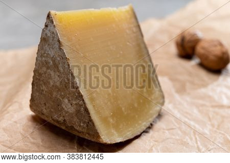 Piece Of French Cheese Comte One Year Matured Prestige