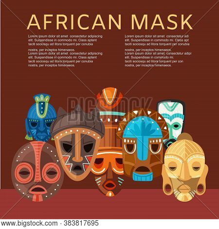 African Mask Vector Vector Photo Free Trial Bigstock