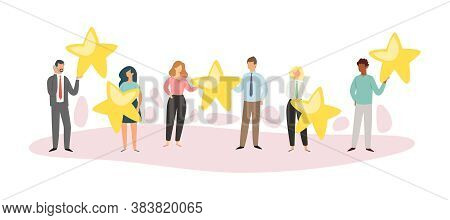 Composition People Star, Top Positive Concept, Online Application, Characteristic Buyer, Design, Car