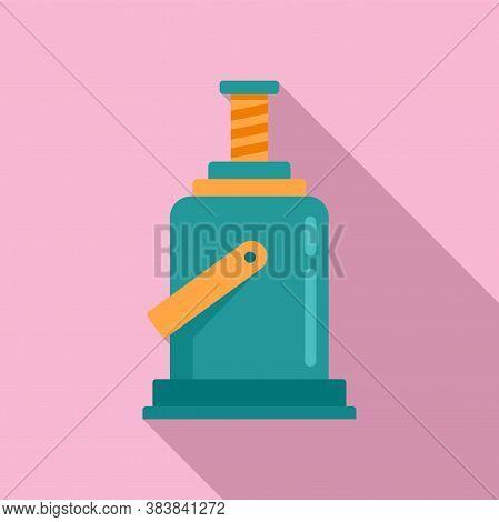 Industry Jack-screw Icon. Flat Illustration Of Industry Jack-screw Vector Icon For Web Design