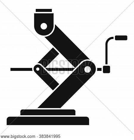 Car Service Jack-screw Icon. Simple Illustration Of Car Service Jack-screw Vector Icon For Web Desig