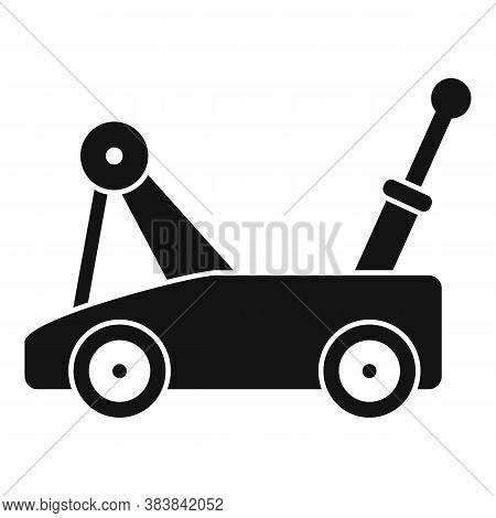 Warehouse Jack-screw Icon. Simple Illustration Of Warehouse Jack-screw Vector Icon For Web Design Is