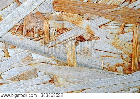Osb Wood Board For Wall Decoration. Wood.