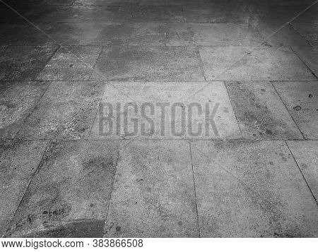 Tile flooring close up as background