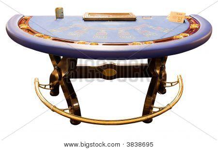 Blue Card-Table