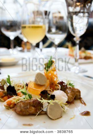 Crayfish With Black Truffle Mousse