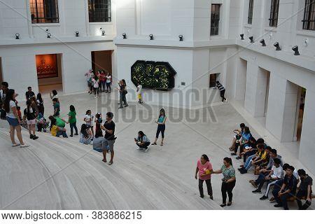 Manila, Ph - Oct 20 - National Museum Of Natural History Atrium On October 20, 2018 In Manila, Phili