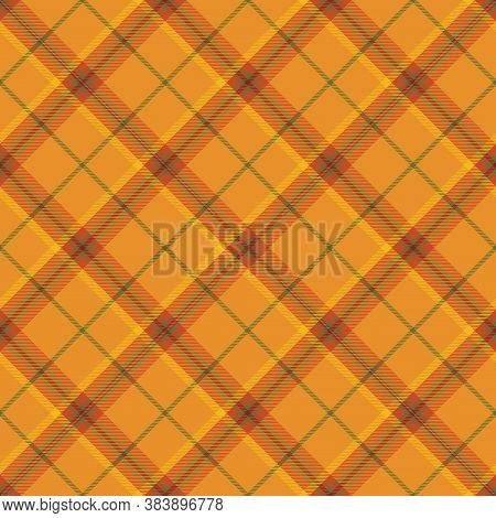 Autumn  Tartan Seamless Pattern Background. Fall Color Panel Plaid, Tartan Flannel Shirt Patterns. T