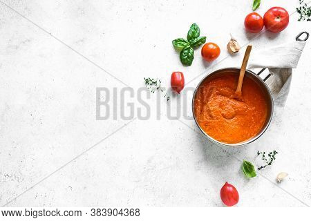 Homemade Tomato Sauce Or Soup