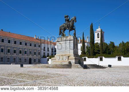 Vila Vicosa, Portugal - March 1, 2019: Paco Ducal In Vila Vicosa In Alentejo, Portugal