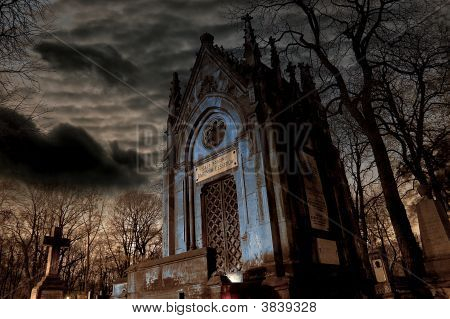 Tomb In Night