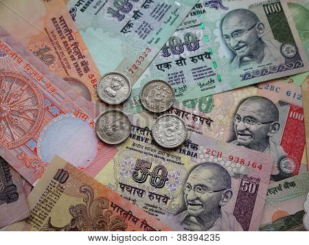 Indian money.