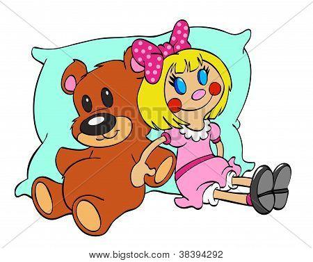 Teddy Bear & Rag Doll Friends