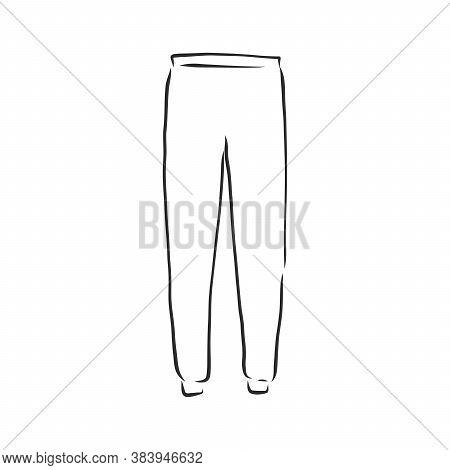Tracksuit Vector Sport Fashion Garment Man, Tracksuit, Vector Sketch Illustration