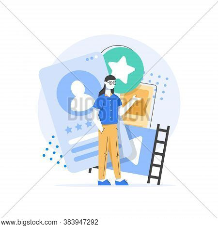 Human Resources, Recruitment Concept For Web Page,hiring Employees, Recruitment Agency,profile