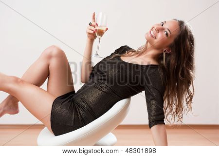Sensual Party Girl.