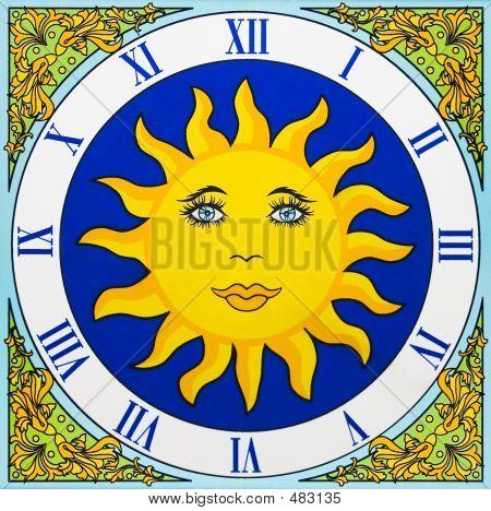 Keramik Uhr
