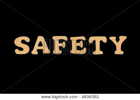 Wooden Word Safety