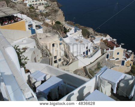 Terrace Restaurants Santorini