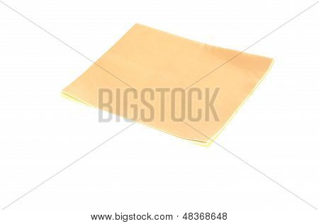 Chamois On A White Background
