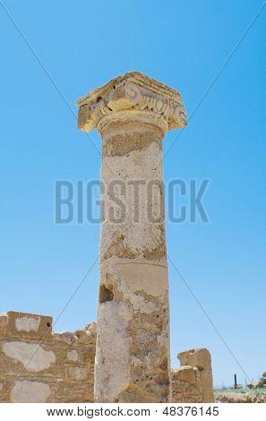 Fragment Of An Ancient Column