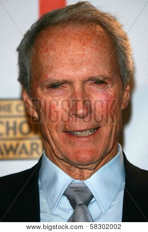 Clint Eastwood in the press room at the 12th Annual Critics' Choice Awards. Santa Monica Civic Auditorium, Santa Monica, CA. 01-12-07