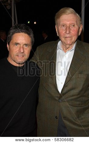 Brad Grey and Sumner Redstone at the Los Angeles Premiere of