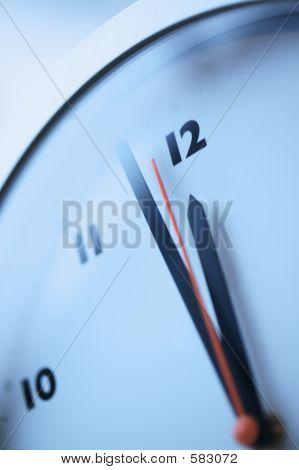 Clock Approaching Midnight