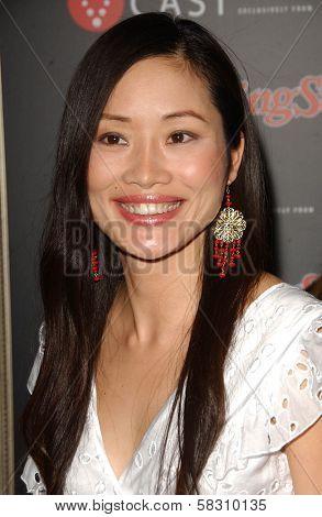 Shelly Zhu at the Verizon Rolling Stone Grammy Party. Avalon, Hollywood, CA. 02-09-07