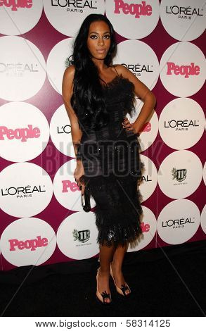 Solange Knowles at the People Magazine Post Grammy Party. Eleven, West Hollywood, CA. 02-11-07