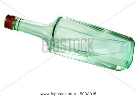 Crystal Carafe With A Wineglass
