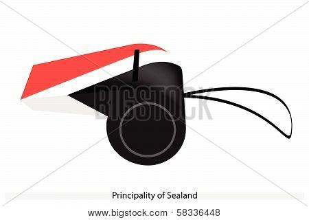 A Whistle Of The Principality Of Sealand